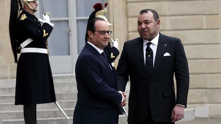 لقاء بين الرئيس الفرنسي والعاهل المغربي بعد خلاف استمر عاما