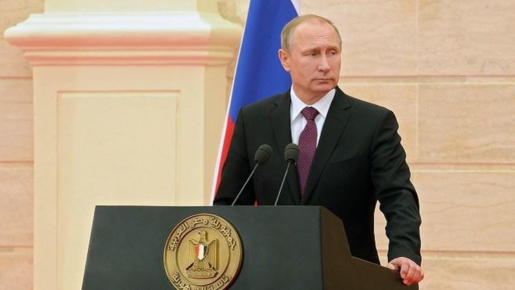 أهم نقاط كلمتي الرئيسين بوتين والسيسي في ختام محادثاتهما في القاهرة