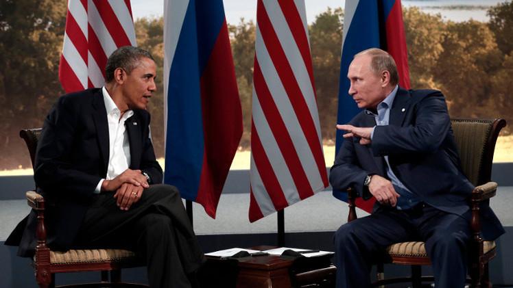 أوباما يتصل ببوتين عشية قمة