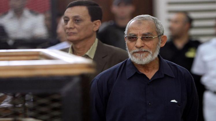 إلغاء حكم إعدام مرشد الإخوان المسلمين في مصر