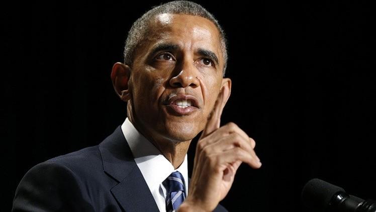أوباما يطلب من الكونغرس تفويضا لمحاربة