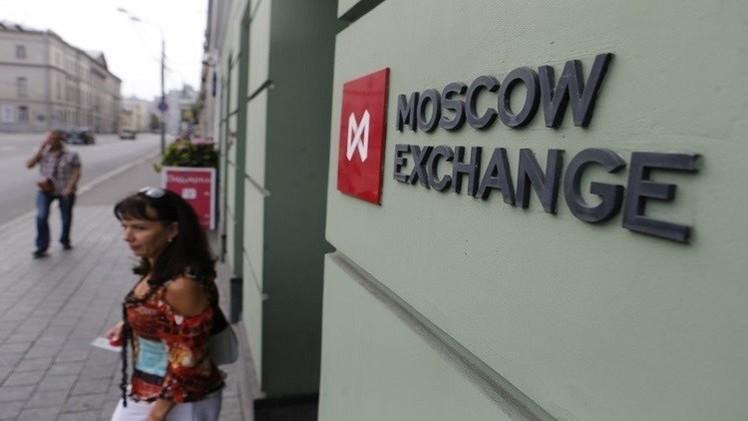 بورصة موسكو تنهي التداولات بالمنطقة الخضراء بانتظار نتائج اجتماع مينسك