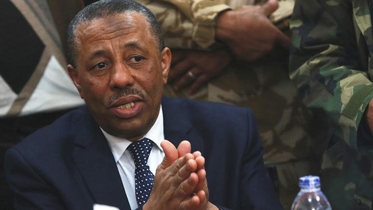 ليبيا.. الثني يعزل وزير داخليته لانتقاده حفتر