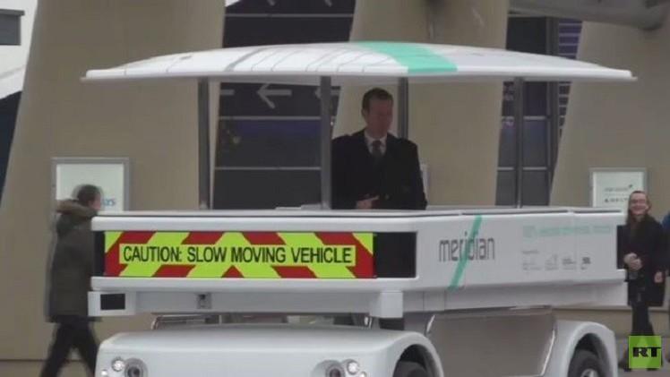بالفيديو.. اطلاق أول سيارة بريطانية ذاتية القيادة