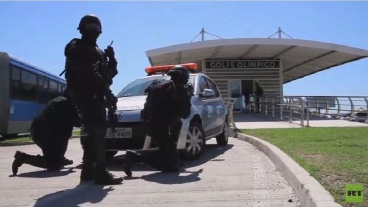 تدريبات الوحدات الخاصة بمكافحة الإرهاب في البرازيل (فيديو)