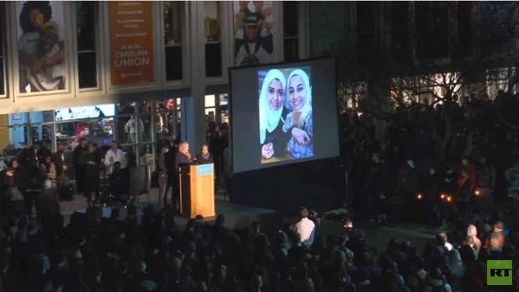 بالفيديو من الولايات المتحدة.. الآلاف يتضامنون مع ضحايا تشابل هيل