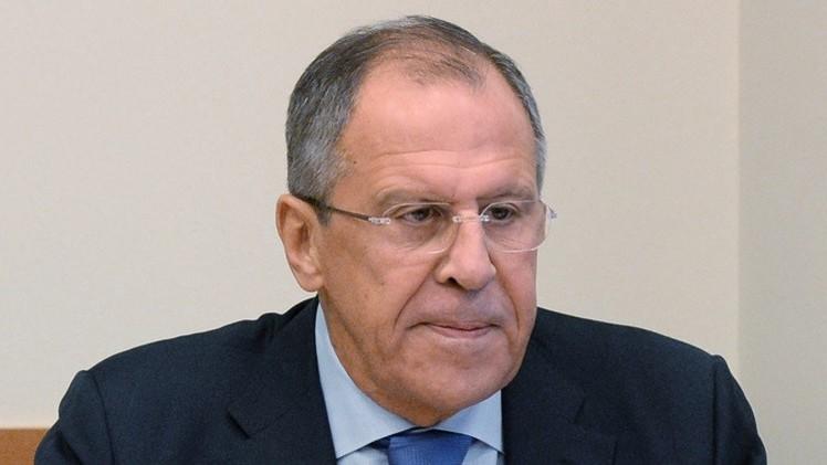 لافروف: روسيا ستواصل جهودها لتسوية الأزمة في أوكرانيا