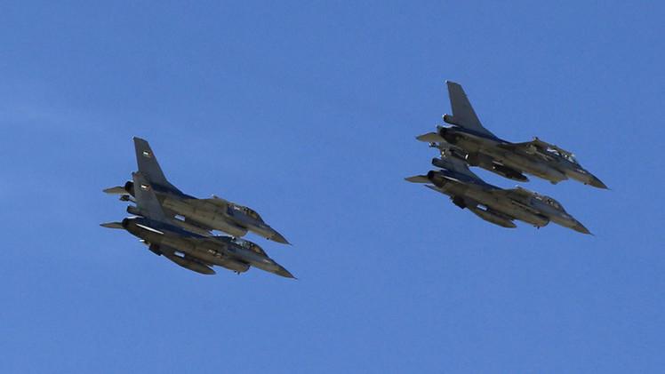سلاح الجو الأردني يستأنف ضرب مواقع