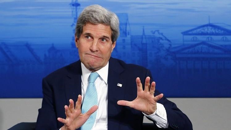 كيري: مستعدون للنظر في رفع العقوبات عن روسيا في حال تطبيق اتفاقات مينسك