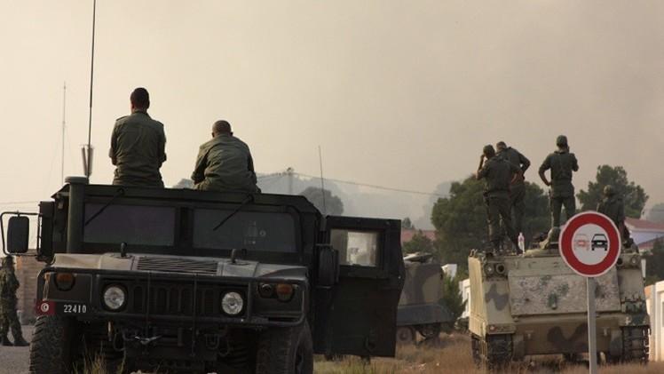 الجيش التونسي يقصف معاقل مسلحين بجبال السلوم والسمامة