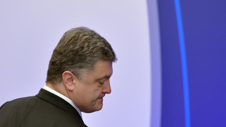 بوروشينكو: لا توجد قناعة كاملة لدى أي طرف بتنفيذ اتفاقات مينسك