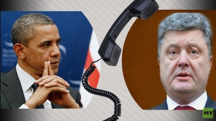 أوباما وبوروشينكو يتفقان على