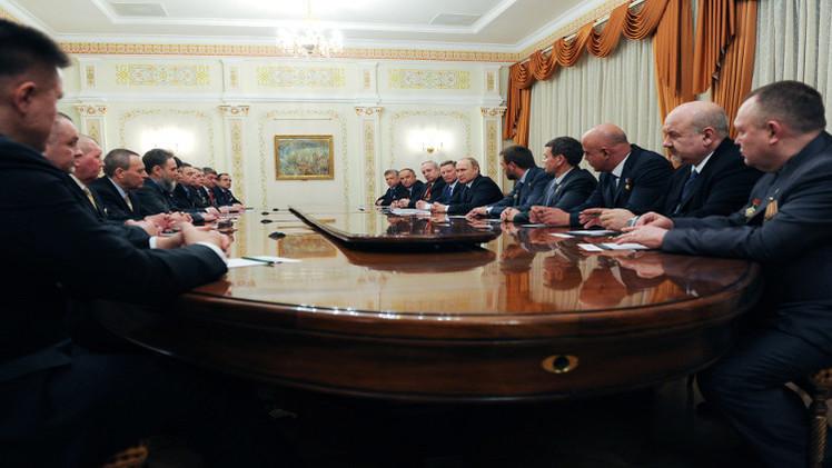بوتين: خرج العفريت من القمقم