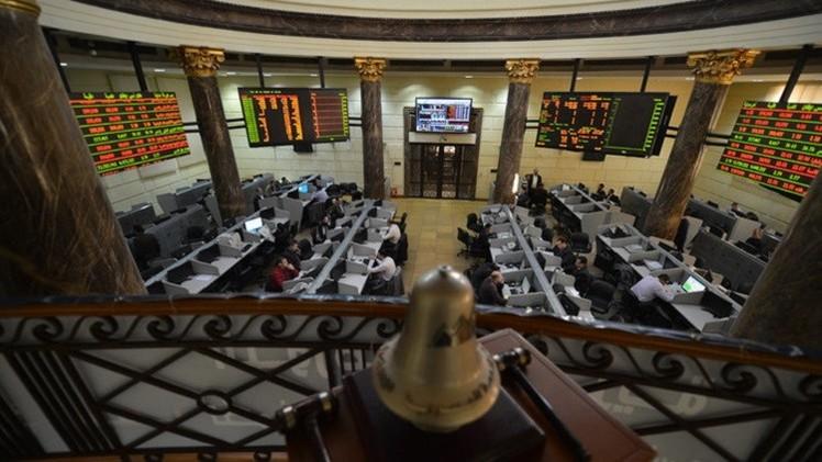 بورصة مصر تبدأ تداولات الأسبوع في المنطقة الخضراء