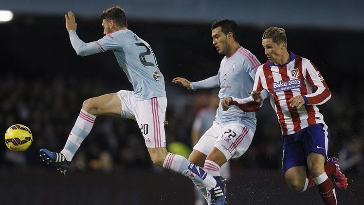 اتلتيكو مدريد يتلقى صفعة قوية من سيلتا فيغو