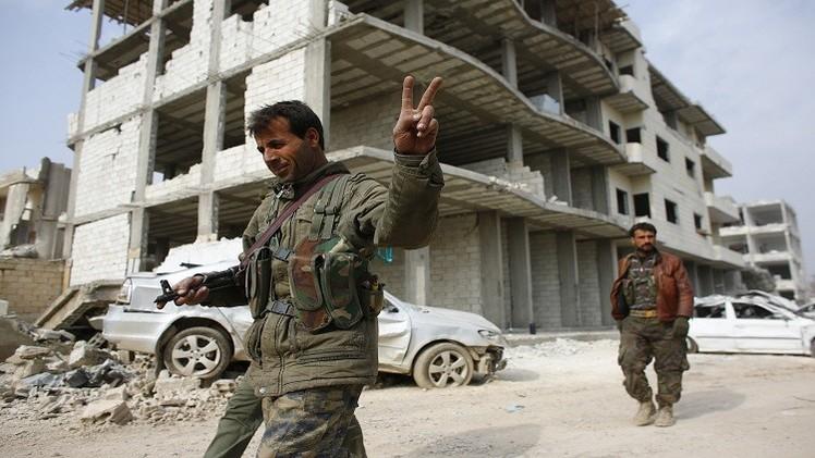 القوات الكردية تدخل محافظة الرقة وتقتل 35 عنصرا من