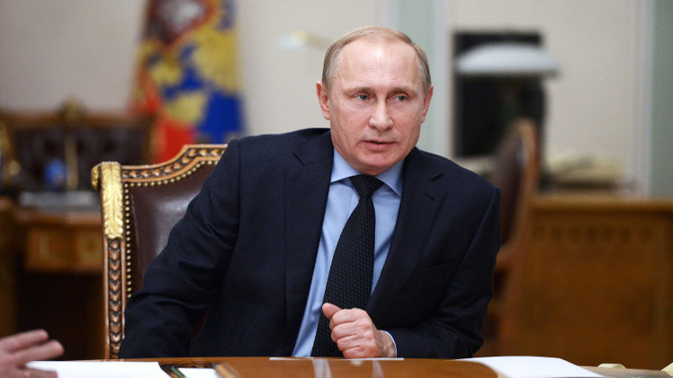 بوتين يدين قتل 21 مسيحيا مصريا ويعرب عن تعازيه لمصر وللرئيس السيسي