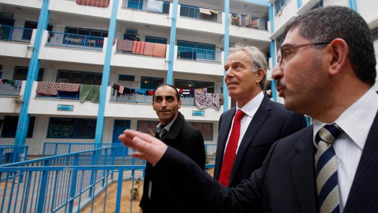 بلير يحذر من كارثة في غزة ويعالون يستبعد مواجهة قريبة