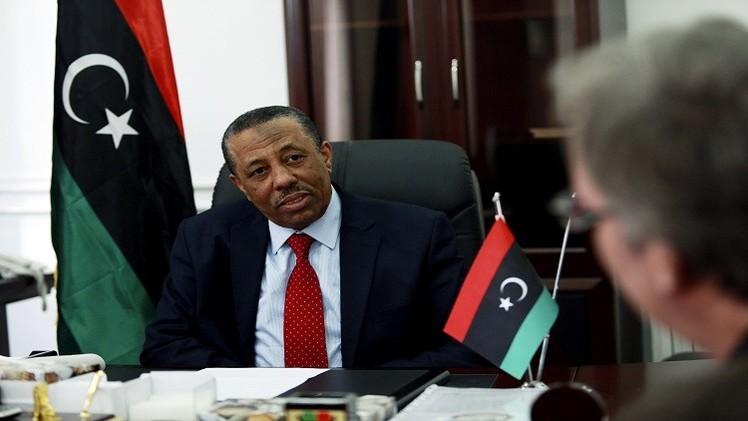 الثني يطالب مجلس الأمن برفع الحظر عن تسليح الجيش الليبي
