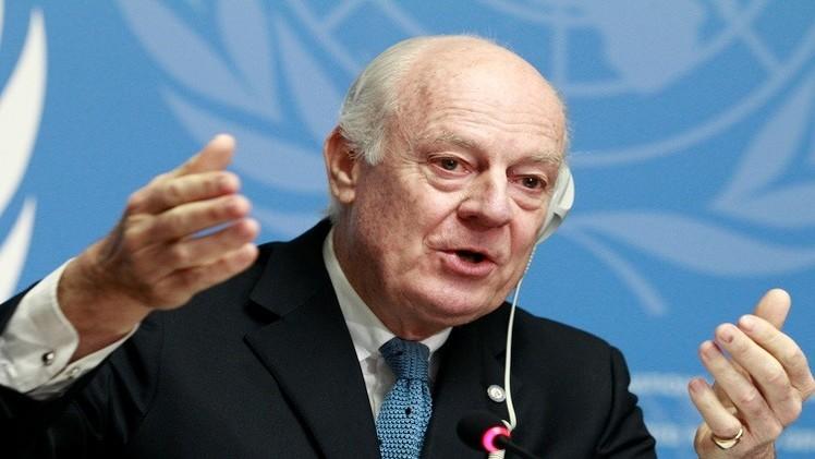 الجماعات المسلحة في سوريا ترفض لقاء دي ميستورا