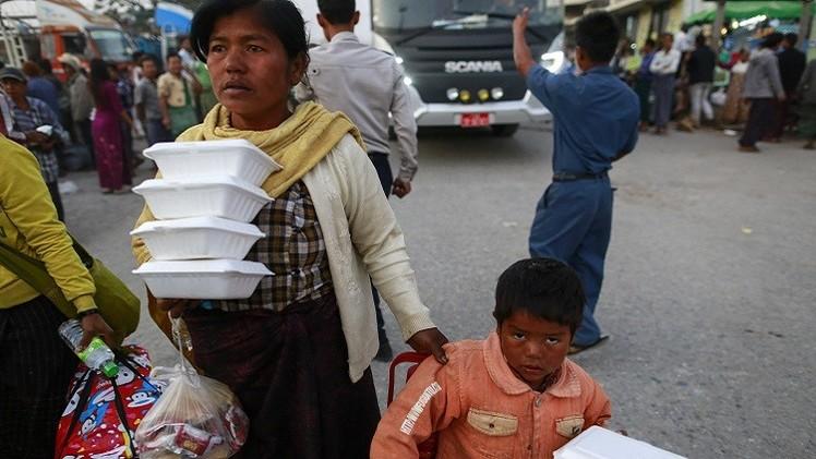 ميانمار: فرار أكثر من 30 ألف مدني من المعارك بين الجيش والمتمردين