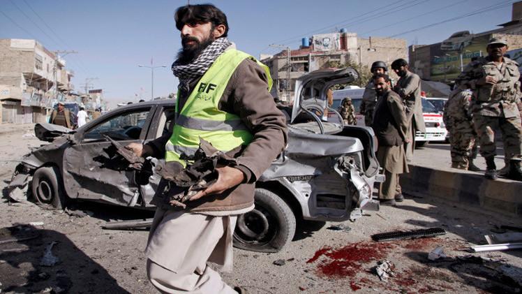 مقتل 10 أشخاص بانفجار في لاهور الباكستانية