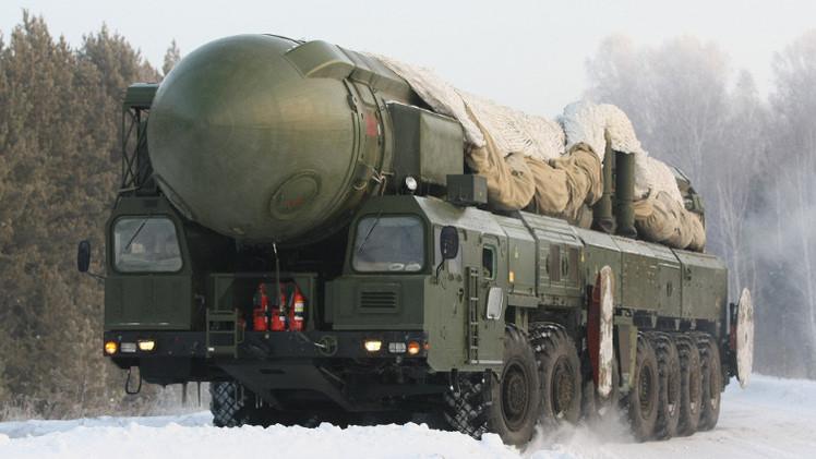 قوات الصواريخ الاستراتيجية الروسية تشهد أضخم التدريبات (فيديو)