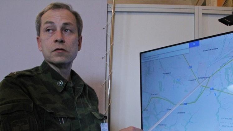 دونباس.. معارك شرسة حول ديبالتسيفو والهدنة قائمة في معظم المنطقة