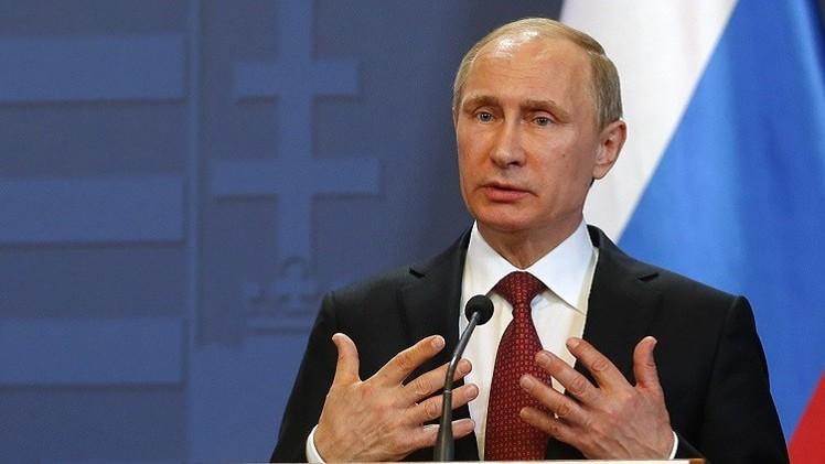 بوتين: آمل من طرفي النزاع الأوكراني تنفيذ اتفاق مينسك