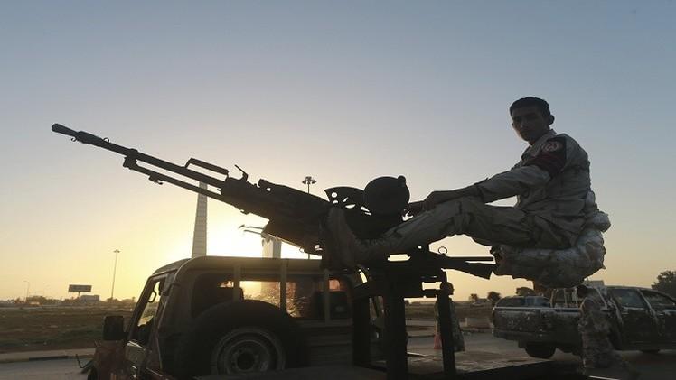 الولايات المتحدة و5 دول أوروبية تدعو إلى حل سياسي في ليبيا