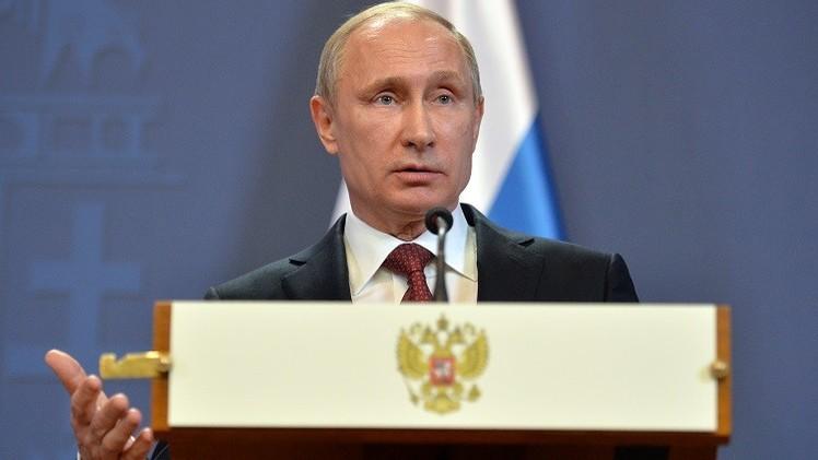 بوتين: تزويد أوكرانيا بالأسلحة لن يغير الوضع القائم