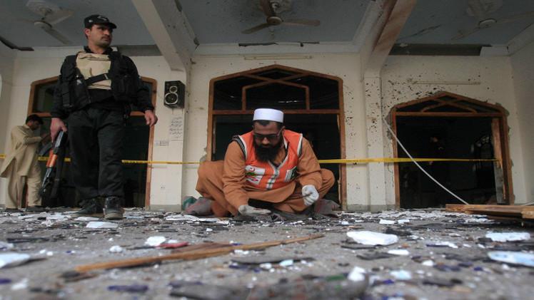 قتلى وجرحى في تفجير انتحاري استهدف مسجدا في إسلام آباد