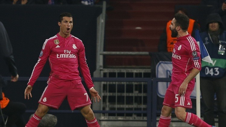 رونالدو ينهي صيامه التهديفي في شباك شالكه في دوري أبطال أوروبا