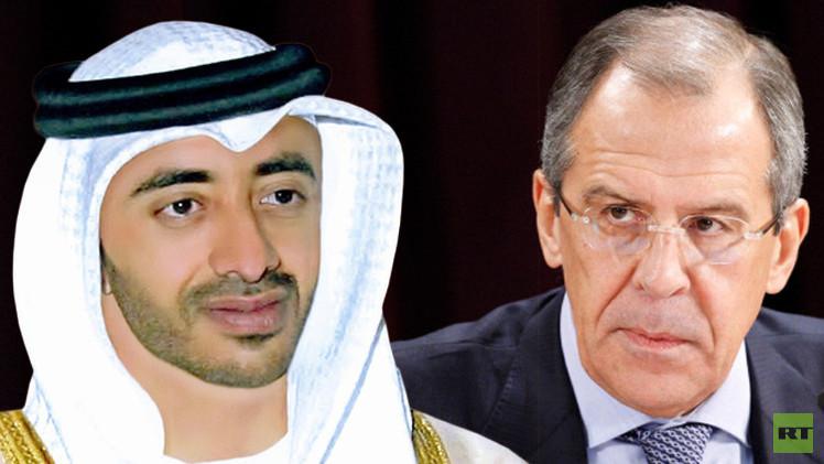 اليمن وليبيا محور مكالمة بين لافروف ونظيره الإماراتي