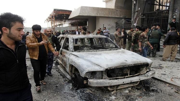 عشرة بين قتيل وجريح بانفجار وقصف في بغداد