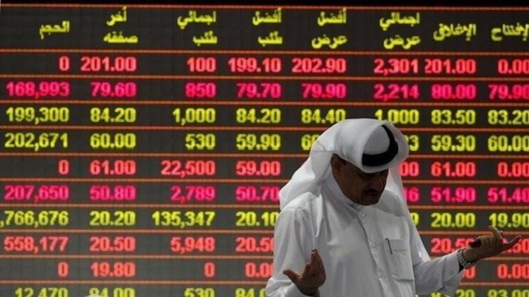 الأسواق الخليجية تتراجع مع هبوط النفط