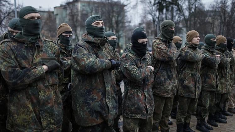 قادة ميدانيون أوكرانيون يعلنون إنشاء هيئة أركان