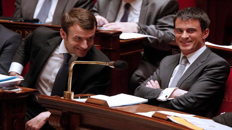 حكومة فالس تتجاوز اختبار تصويت الثقة في البرلمان الفرنسي