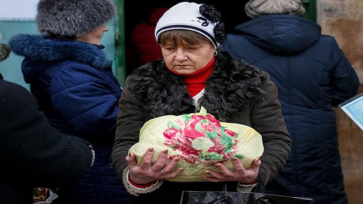 وصول أول قافلة إنسانية أممية إلى دونيتسك