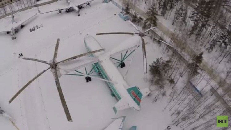 بالفيديو من روسيا.. شاهد أكبر طائرة هليكوبتر في العالم