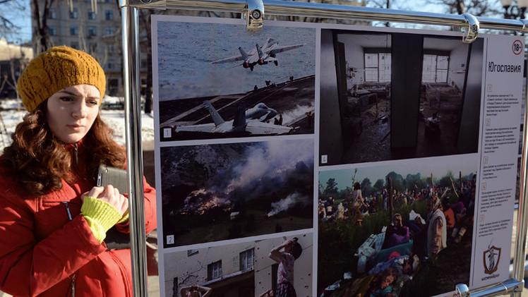 موسكو...افتتاح معرض للصور الفوتوغرافية