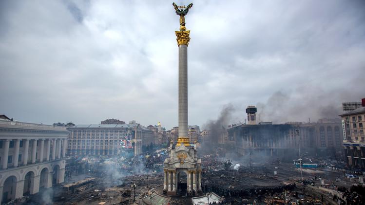 لقطات خلال الأزمة الأوكرانية بعدسة أندريه ستينين