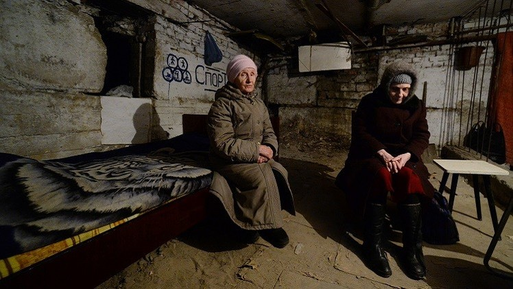 مفوض أوروبي يؤكد وجود كارثة إنسانية في أوكرانيا ويدعو إلى