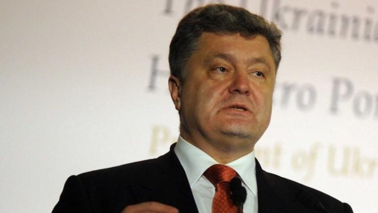 بوروشينكو يوقع قانون إنشاء لواء