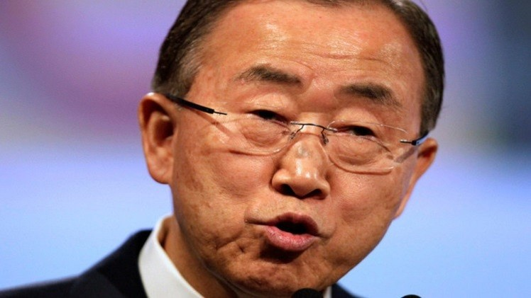 بان كي مون: إرسال بعثة أمنية إلى أوكرانيا مرهون بقرار مجلس الأمن الدولي