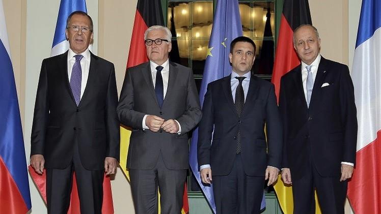 مجموعة النورماندي تجتمع الاثنين ومنظمة الأمن والتعاون تطلب الدعم