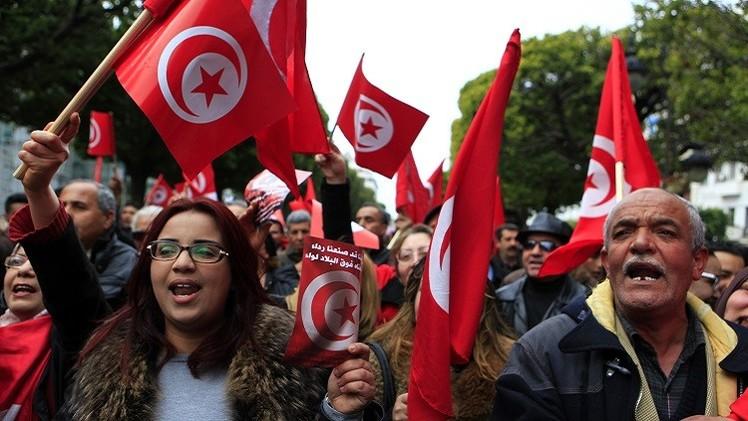 تونس.. تظاهرة ضد الإرهاب توحد جميع القوى السياسية