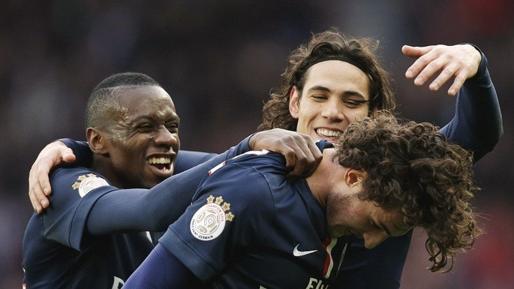 Adrien Rabiot with Singel