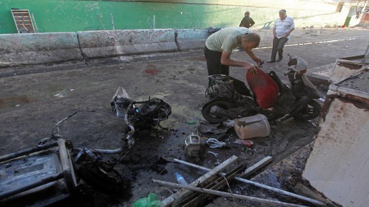 4 قتلى و9 جرحى في تفجير جنوبي بغداد