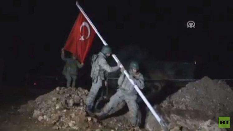 عملية عسكرية تركية داخل سوريا لإجلاء جنود من ضريح سليمان شاه